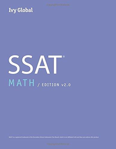 Ivy Global SSAT Math (Prep Book)