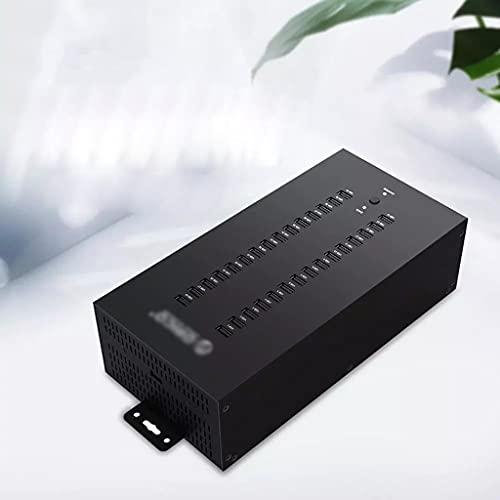 GFDFD 30 Puertos Industrial USB2.0 Hub para TF SD Lector de Tarjetas U-Disk Data Data Copia por lotes