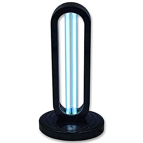 Rveal   UVILIZER Tower - UV Light Sanitizer & Ultraviolet Sterilizer Lamp (Portable UV-C Cleaner for Home, Travel, Room   Powerful 38W UVC Ozone Disinfection Bulb   Wireless Remote Control   USA)