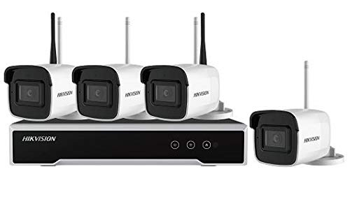 Hikvision HiWatch Series NK44W0H-1T(WD) WLAN Überwachungsset deutsche Version