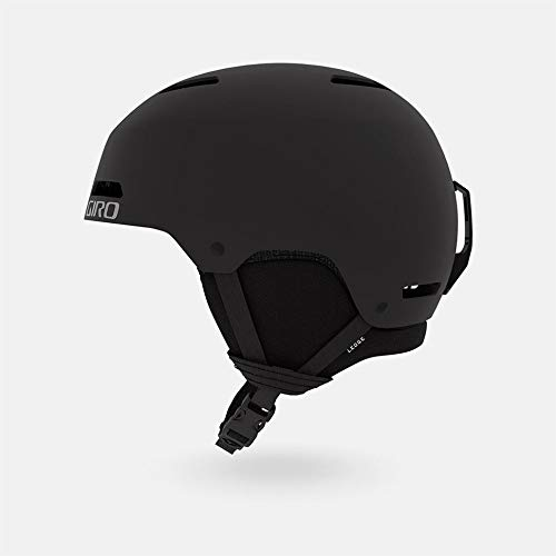 Giro Ledge MIPS Casque de Protection Unisex-Adult, Noir Mat, S 52-55.5cm