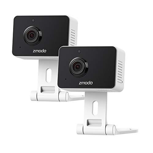 Zmodo Wireless Security Camera System (2 Pack) Smart HD WiFi IP Cameras...