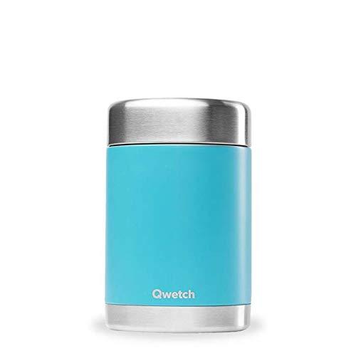 QWETCH Termo isotérmico comida Acero INOX. Turquesa Thermos Mixte, Turquoise, Taille Unique