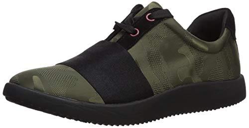 Aerosoles Women's Power GAIN Sneaker, Dark Green Combo, 8.5 M US