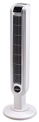 Lasko 2510 Oscillating Tower Fan, 36 Inch, White