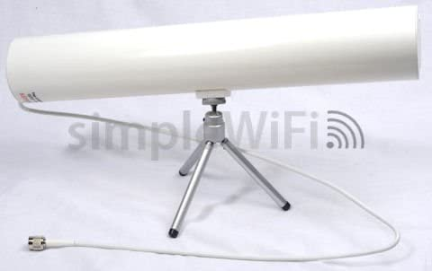 Yagi WiFi Antenna: White Indoor Directional 2.4GHz 80 14dBi OFFicial Max 82% OFF shop