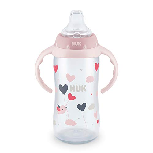 NUK Learner Cup, 10 Oz, Hearts