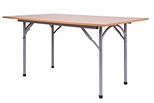 KaRomBerlin-Mextra Banchetto da Tavolo. Tavolo Pieghevole 138x 90cm Altezza 74cm