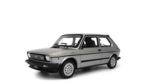 Laudoracing Fiat 127 Sport 70 HP 1982 gris metalizado 1:18 Modelo coche exclusivo para coleccionistas