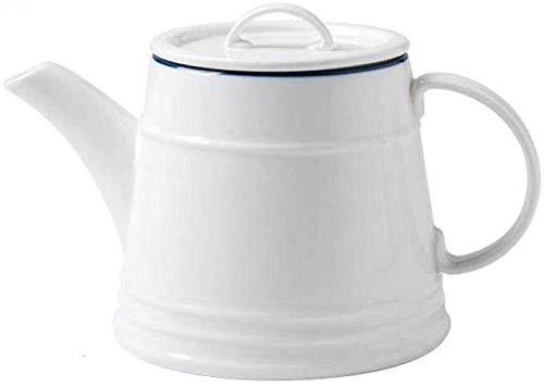 Yruog Tetera Tetera de cerámica Tetera de esmalte Juegos de té Olla de cerámica Juego de té de la tarde Tetera Jugo Olla Olla Café Agua fría Botella de agua fría