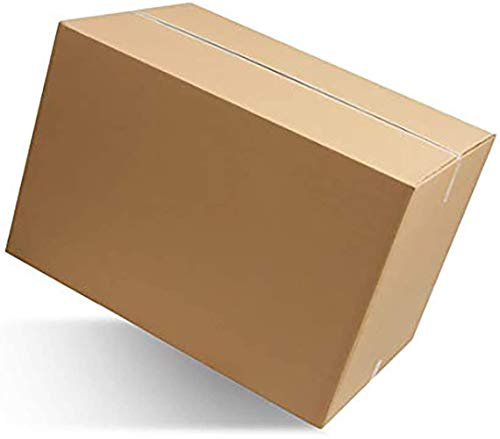 IMBALLAGGI 2000-10 Scatoloni 80x60x50 cm - Scatola di Cartone Doppia Onda - Imballaggi per Spedizione e Trasloco - 10 Pezzi