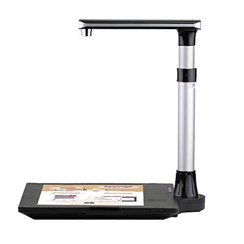 Buy Discount Portable Foldable Book Film Scanner Scaner Megapixel Document Scanner Book Scanner OCR ...