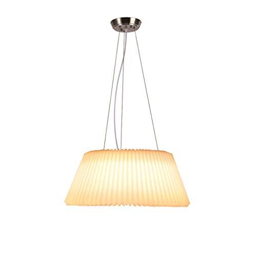 N / A El pequeño apartamento iluminación de la lámpara habitación lámpara LED salón Simplemente amueblado de Exquisita lámpara de Cristal de Hierro Forjado (Color, Neutral),luz Caliente