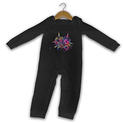 WoodWorths Zelda Majora's Maske, Neugeborene Gilr's Boy Kid Baby Strampler Langarm...