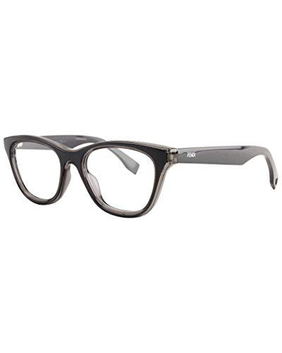 Fendi Brillengestelle FF 0197 0L1A Rechteckig Brillengestelle 49, Schwarz