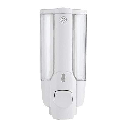 YANJHJY 350 ml Wandseifenspender an der Wand, Badezimmer Küchen-Desinfektionsmittelbehälter Manueller Seifenflüssigkeitsshampoo-Lotionspender