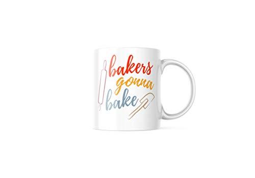 Bakers Gonna Bake Mug, Bakers Mug, Fun gifts for bakers, Gift for Bakers, Mug with Baking Sayings, unique Cooking accessory , Novelty Joke Mug, M309