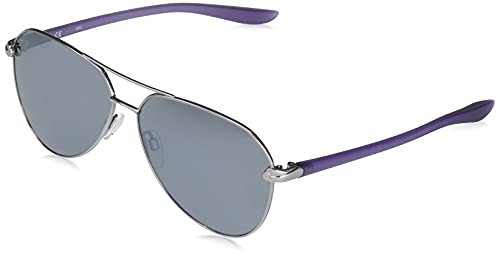 NIKE Gafas de Sol CITY DJ0888 Ruthenium/Grey Silver 61/13/140 mujer