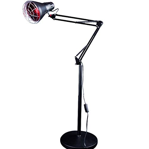 Buy NYPB 275W Red Light Heating Floor Lamp, Heat Treatment Lamp Pain Relief Adjustable for Thermothe...