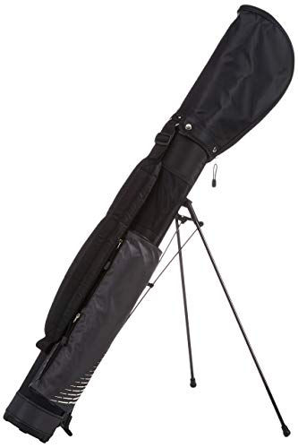 Longridge Uni Golf Stand Bag Travelite, Schwarz / Silber, Bas5Tbs