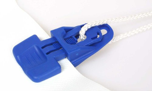 Universalklipp Easy-Clip 4-er Set - Planenclip Planenhalter Planenspanner Zeltteppich Clips Klemmklipp