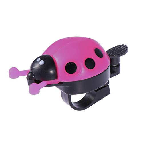 BESPORTBLE Fahrradklingel Ring für Kinder Jungen Mädchen Fahrradklingel Horn Für Kinder Fahrrad Kinder Geschenk (Rosa)