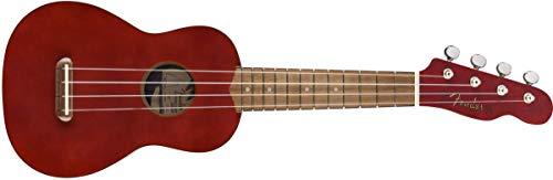 Fender Venice - Ukelele soprano, color cereza
