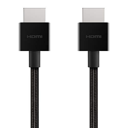 Belkin UltraHD-Highspeed-HDMI-Kabel (2018, 2 m-4K-HDMI-Kabel, unterstützt 4K/120 Hz und 8K/60 Hz, Dolby Vision-/HDR 10-kompatibel, 48 Gbit/s)