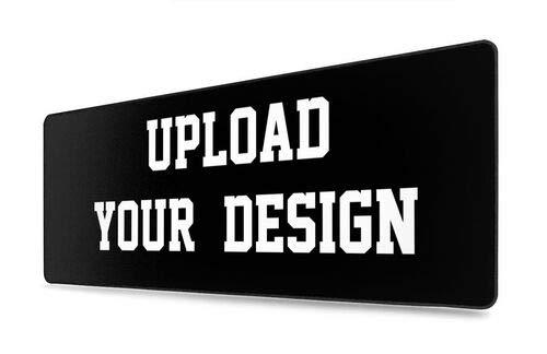Almohadilla de escritorio grande personalizada, protector de escritorio/alfombrilla de ratón impermeable para trabajo y juegos (40 x 74 cm)