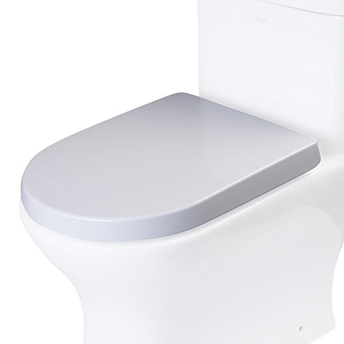 EAGO R-353SEAT Replacement Soft Closing Toilet Seat for TB353 , White