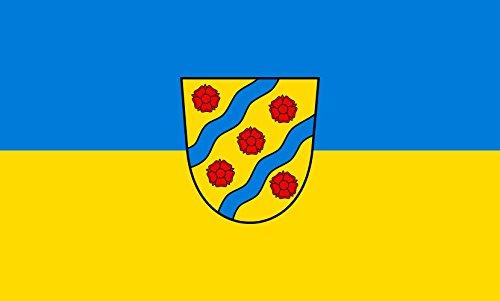 Unbekannt magFlags Tisch-Fahne/Tisch-Flagge: Starzach 15x25cm inkl. Tisch-Ständer