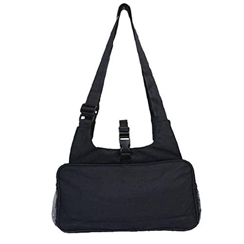 EElabper Palestra Duffle Bag Yoga Mat Carrier Sports Borsone Sports Esterni Inclinato Borsa a Tracolla per Fitness Articolo Bagagli Nero