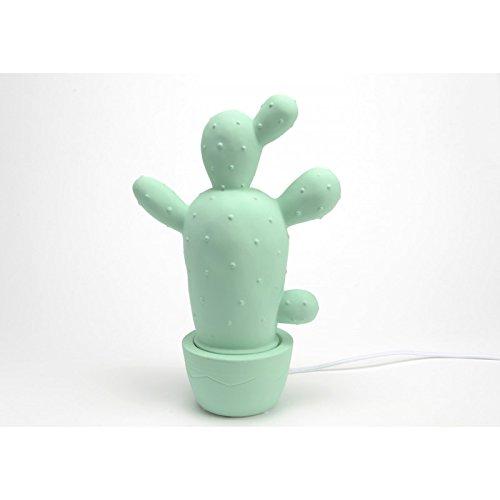 Lampe Cactus Yucatan, de couleur bleue, Amadeus