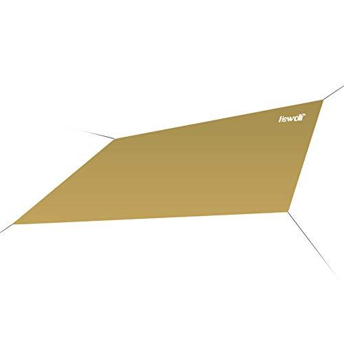 CarCover Sonnensegel, Sonnensegel, 1,45 x 1,8 m, rechteckig, Sonnensegel, UV-Block, Sonnensegel, für Terrasse, Garten, Außenanlagen und Aktivitäten