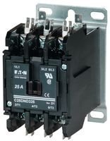 Contactor, 25 A, Panel, 600 VAC, 3PST, 3 Pole, 5.5 kW