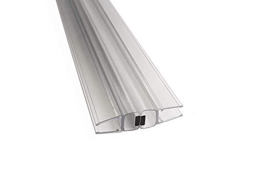 Kristhal Tür-Magnetdichtung 180°, 1 Paar, 200 cm Länge, für 6 und 8 mm Glas, made in Germany, Art. Nr. 6092