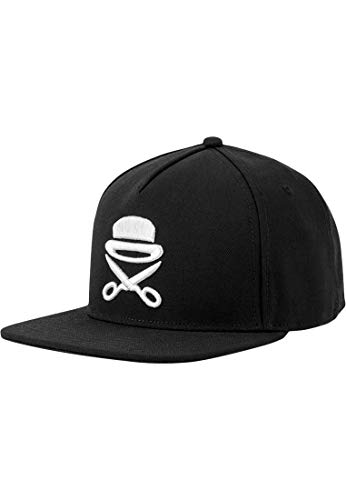 Cayler and Sons Cayler & Sons Snapback Pa Icon Black White, Size:One Size Cappellino, Blk/Wht, Taglia Unica Unisex-Adulto