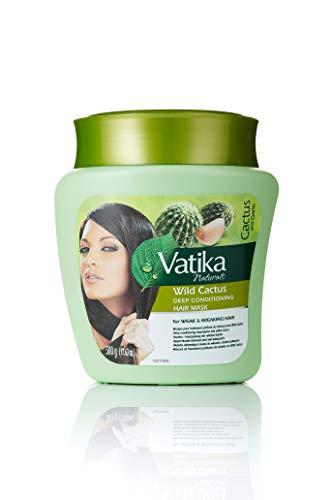 Dabur Naturals Wild Cactus Deep Conditioning Masque Capillaire pour Cheveux Faibles/Cassants 500 g