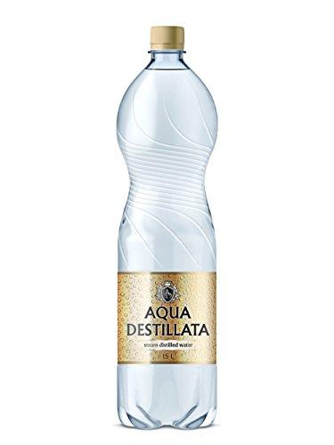 Distilled Water 1,5 L (1500ml)/ 100% Pure Steam Distilled Water/ Medical Grade/ Food Grade/ TDS 000 ppm/ BPA Free
