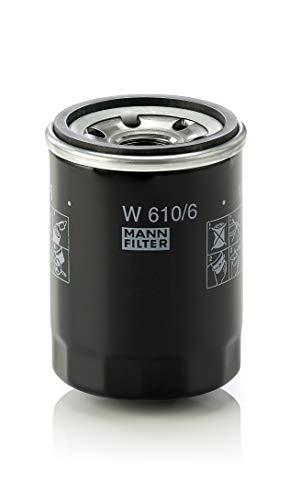 Original MANN-FILTER Ölfilter W 610/6 – Für PKW und Nutzfahrzeuge