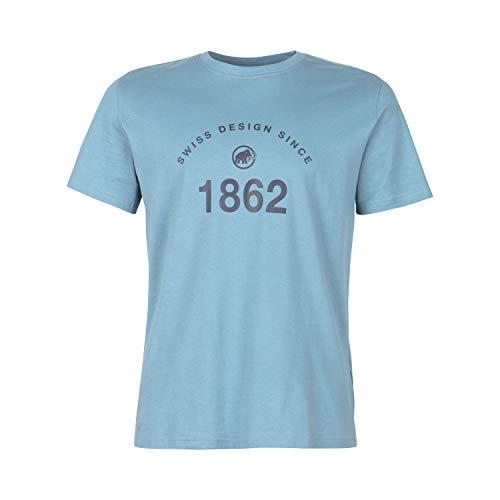Mammut Herren Seile T-Shirt, Blue Shadow Prt2, M