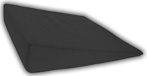 Tiga-Med Sitzkissen Sitzkeilkissen schwarz Tiga Ortho Strong Auto Sitz Kissen Sitzerhöhung 1 Stück