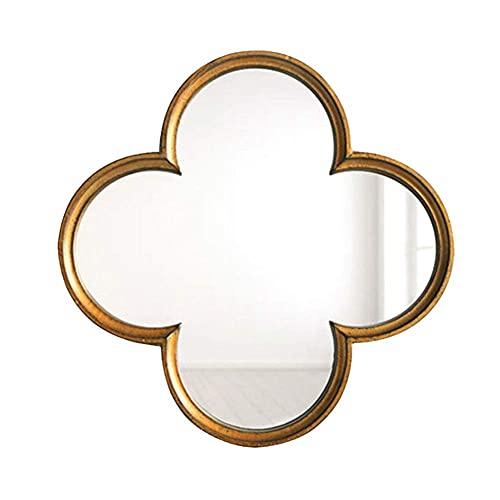 HD Bathroom Mirror Vanity Mirror, Decorative Antique Wall Mirror, Vintage Home Décor Mirror, for Entrance, Living Room, Kitchen, Bedroom, Hallway*Product Code: WW-93