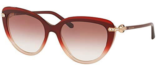 Bvlgari Gafas de Sol SERPENTI BV 8211B RED BEIGE/PINK SHADED 55/18/140 mujer