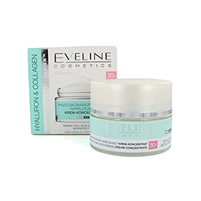 Eveline HYALURON & COLLAGEN Anti - Wrinkle Face Cream - Concentrate 30+ 50ml