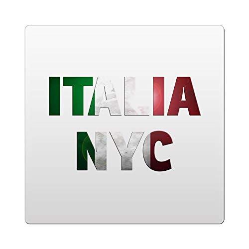 Makoroni - Italia NYC Italy Italian Des#2 Ceramic Tile Trivet 6x6 inc
