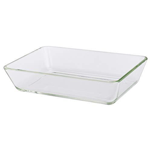IKEA 600.587.62 Mixtur - Fuente para horno, cristal transparente