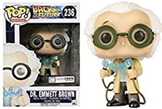 Funko Back to The Future Dr. Emmet Brown Lootctare Exclusive Pop Vinyl