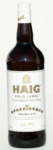 Haig Gold Label Scotch Whisky, 1,0 liter