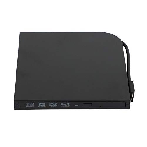 Facibom Typ C Externes USB 3.0-Blu-Ray-Laufwerk BD-RE BD-RW Brenner Blu-Ray Brenner DVD Recorder DVD +/ RW DVD- 3D Player Für Wind8 / 8.1/10 /
